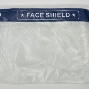 "Face Shield w/Band Universal ""Local Pick-Up"""