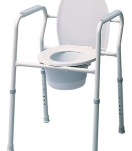 Lumex Silver Collection 3-in-1 Steel Commode