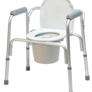 3-in-1 Aluminum Commode