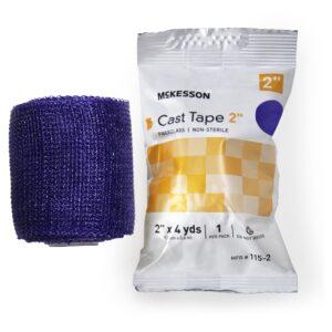 McKesson Purple Cast Tape, 2 Inch x 4 Yard