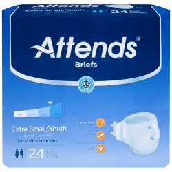 Attends¨ Briefs, Youth / X-Small