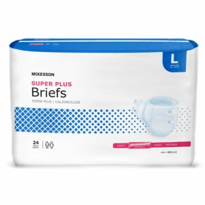 McKesson Super Plus Moderate Absorbency Incontinence Brief, Large