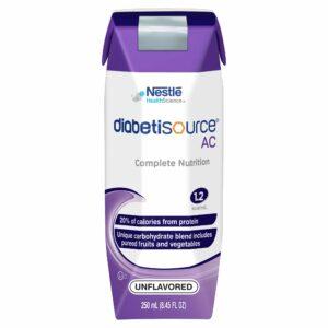 Diabetisource¨ AC Tube Feeding Formula, Ready to Use, Unflavored, Adult 8.45 oz. Carton