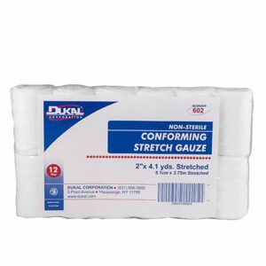 Dukalª Nonsterile Conforming Bandage Roll, 2 Inch x 4-1/10 Yard