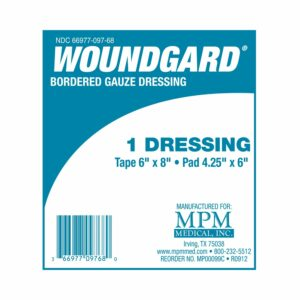 WoundGard¨ Adhesive Dressing, 6 x 8 Inch